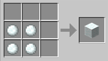 Snow Block Recipe