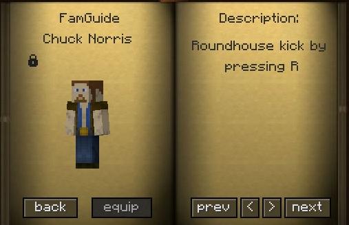 chuck norris familiar