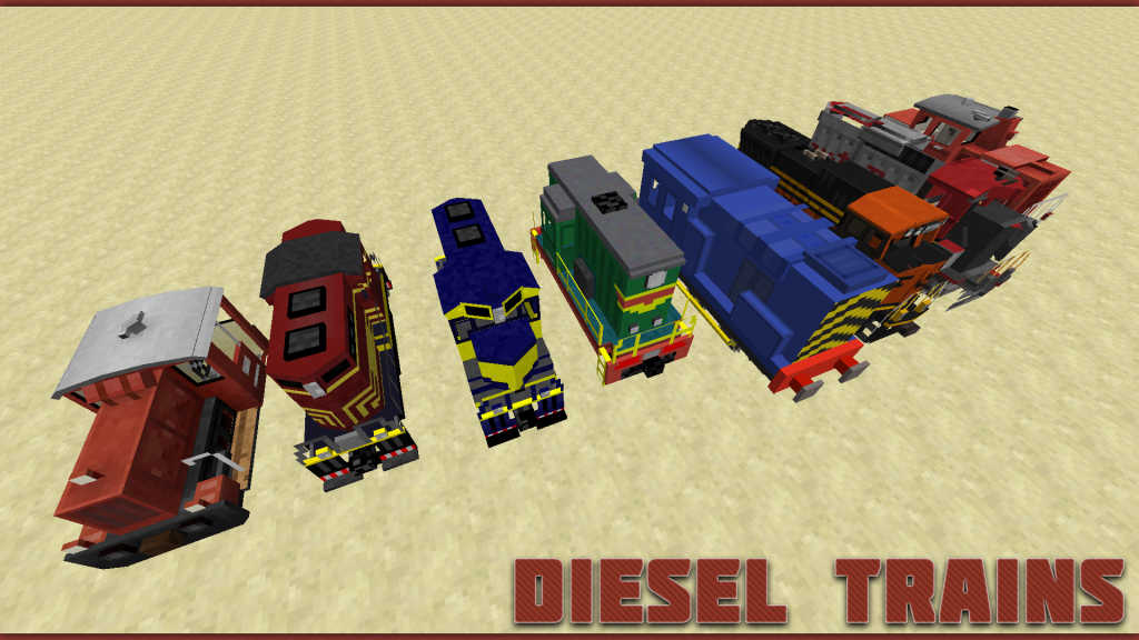 diesel trains minecraft
