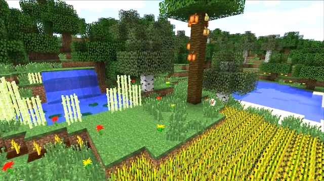 waving plants shaders