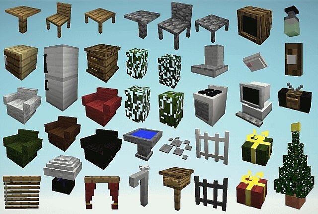 Mrcrayfish S Furniture Mod Minecraft 1 7 10 Forge