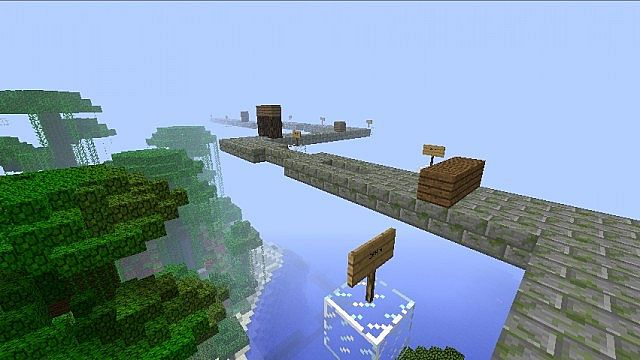 how to clear a huge gap minecraft