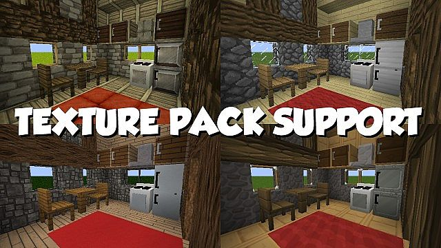 Mrcrayfish S Furniture Mod Minecraft 1 7 10 Forge Minecraftdls